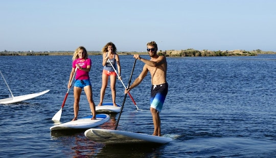 Stand Up Paddleboard Available To Rent In Fleury, France