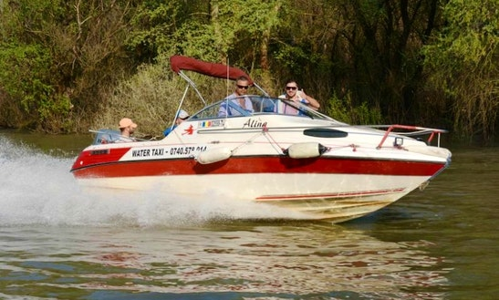 Canal Boat Rental In Tulcea Danube Delta - Alina