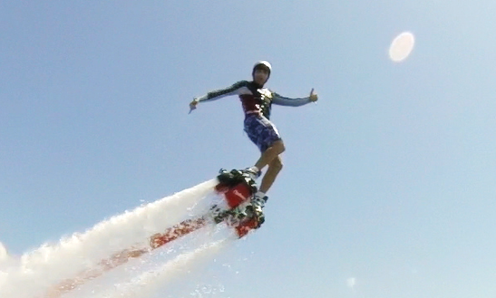 Flyboard Lesson In Ibiza