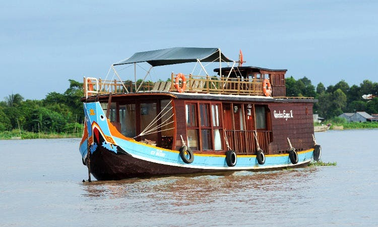 "The Boat ""Gecko Eyes"" River Cruise in Vietnam"
