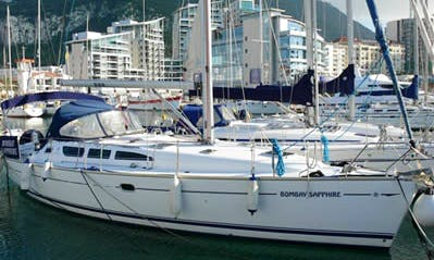 """Charter Jeanneau 40 """"Bombay Sapphire"""" Sailing Yacht  in Gibraltar"""