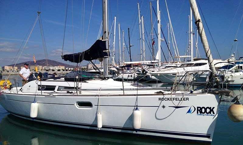 "Charter Jeanneau 36  ""Rockefeller"" Sailing Yacht  in Gibraltar"