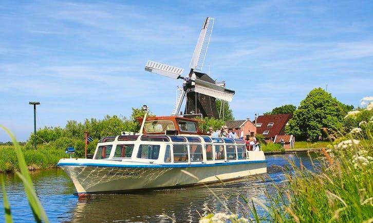 "The ""Ommelaand"" Boat River Cruise in Groningen"