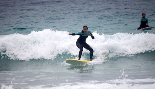 Learn Surfing With Our Qualified Instructors In Corralejo, Spain