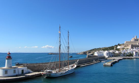 Sail Cruising  Ibiza And Forementera On Tall Ship, For Special Events
