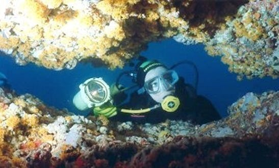 Cave Diving Trips In Northwest Of Sardinia, Italy