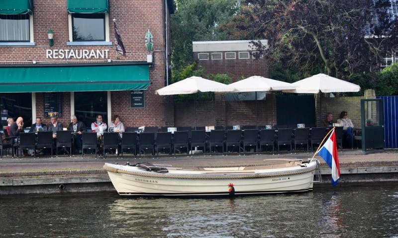 Maril 6.25 Electric Sloop for Hire in Workum