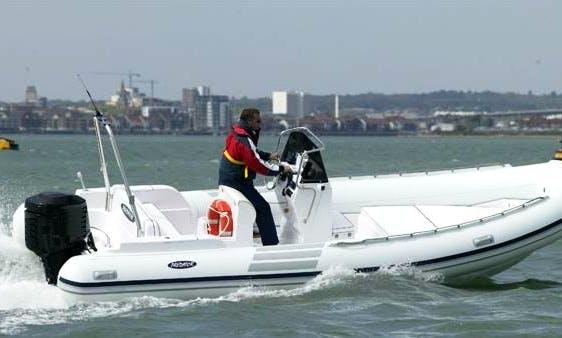 22' Predator 680 Rigid Inflatable Boat Rental In Campania, Italy