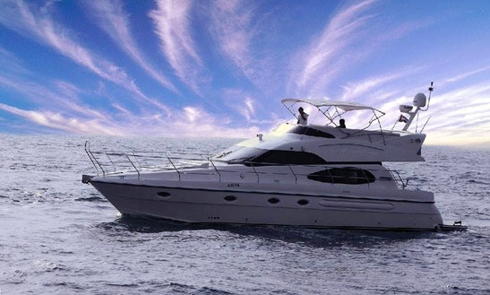 Cruise The United Arab Emirates Coast Aboard As 50 Motor Yacht With Skipper