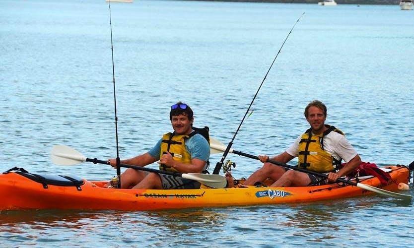 Fishing on Kayak in Kihikihi