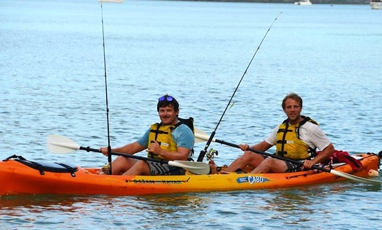 Fishing Kayak In Kihikihi