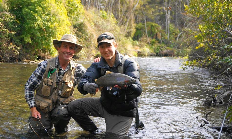 Book a Memorable Fly Fishing Trips for 2 Anglers in Taupo, New Zealand
