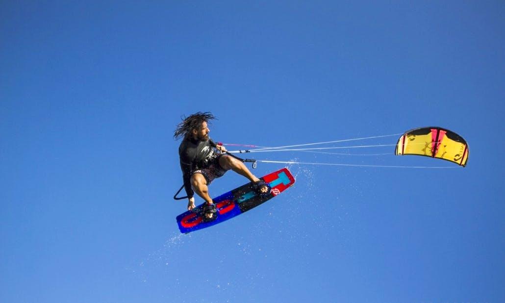 Kiteboarding in Ulcinj