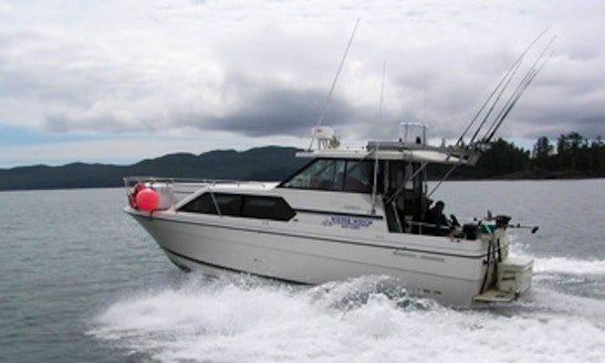 Guided Fishing Trip With Water Witch Excursions' Captain Gord In Prince Rupert, Canada