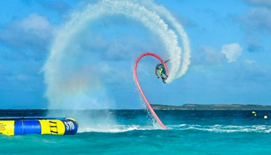 Hearth Pounding Flyboarding Experienced In Collectivity Of Saint Martin