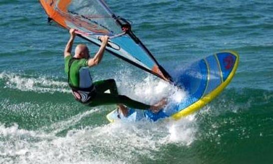 Windsurfing In Rancho Palos Verdes, California