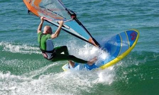 Windsurfing In Rancho Palos Verdes, California
