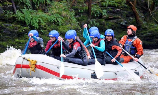 Whitewater Rafting Trips In Llangollen