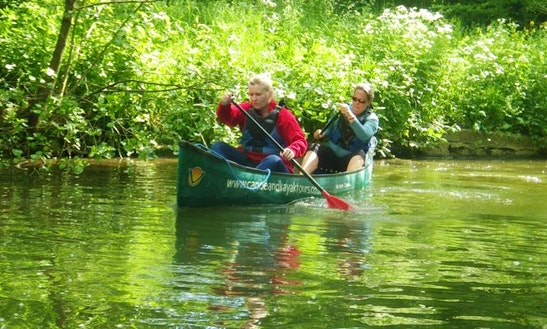 Canoeing Trips & Hire In Windsor England
