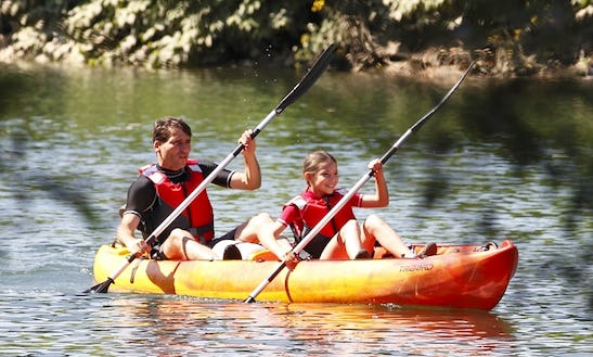 Double Kayak Tour & Hire In Windsor England