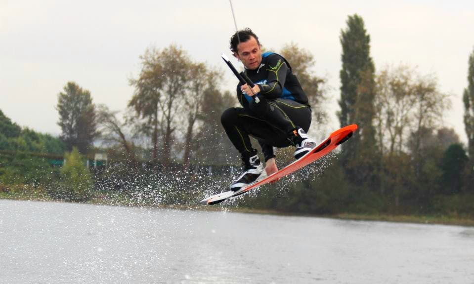 Wakeboarding in England