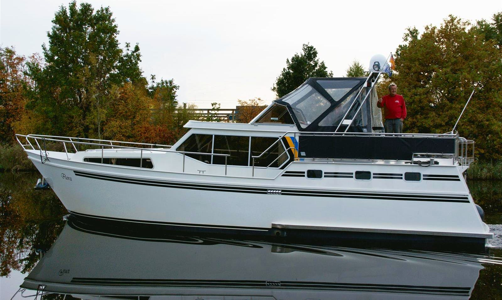 Explore Friesland, Netherlands on 41' Motor Yacht