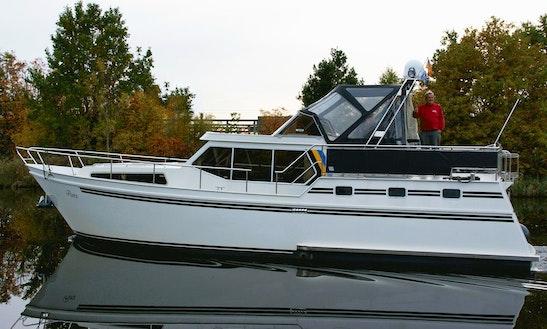 Explore Friesland, Netherlands On 41' Motor Yacht