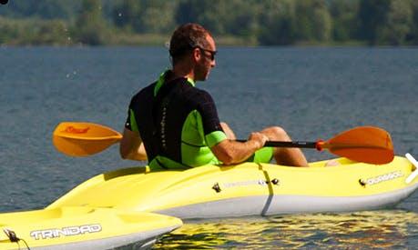 Single Kayak Rental in Colico, Italy