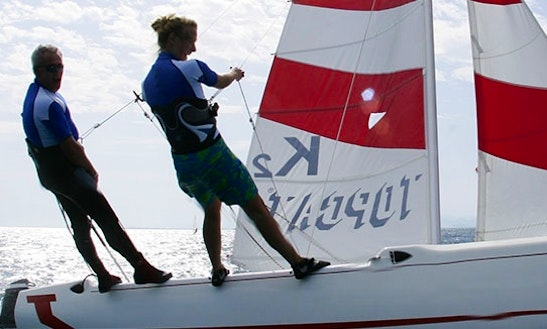 Catamaran Sailing Rental And Lessons In Colico, Italy