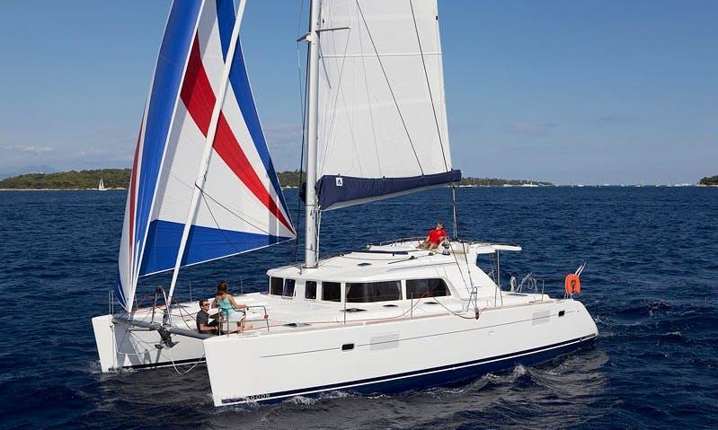 Skipper Charter On Lagoon 440 Cruising Catamaran in Messina, Italy