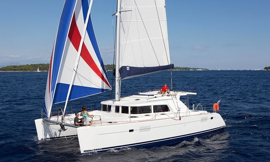 Skipper Charter On Lagoon 440 Cruising Catamaran In Messina, Italy