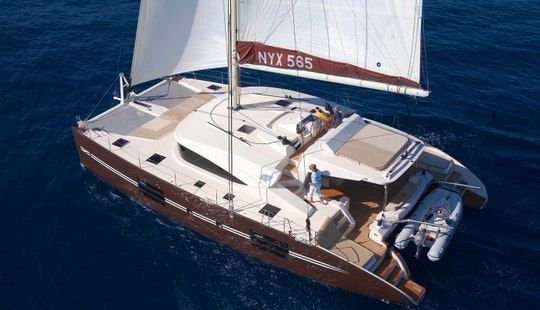Captained Charter On Nyx 565 Clima Sailing Catamaran In Messina, Italy