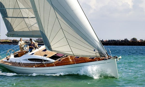 Comet 52 Rs Clima Sailing Yacht Charter from Messina, Italy