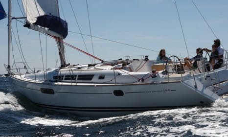 Crewed Charter on Sun Odyssey 44i Sailing Yacht in Messina, Italy