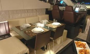 Crewed Charter on Aicon 64 Fly Power Yacht in Messina, Italy
