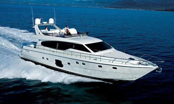 Ferretti 630 Fly Power Mega Yacht