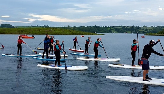 Stand Up Paddle Boarding Lesson & Hire In England