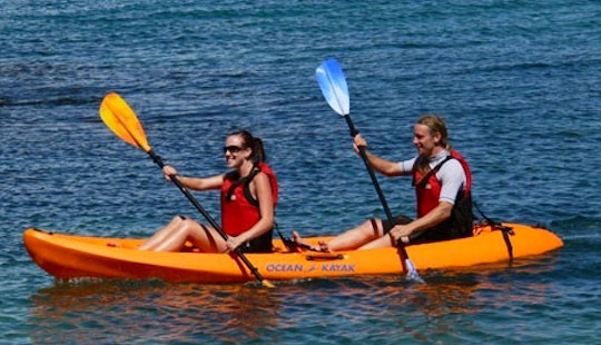 Double Sit On Top Kayak Courses And Hire In England