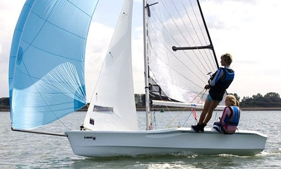 Laser Vago Sailing Dinghy Hire  In England