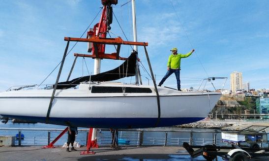 Sailing Adventure In Valparaíso, Chile On Aventura Sailboat