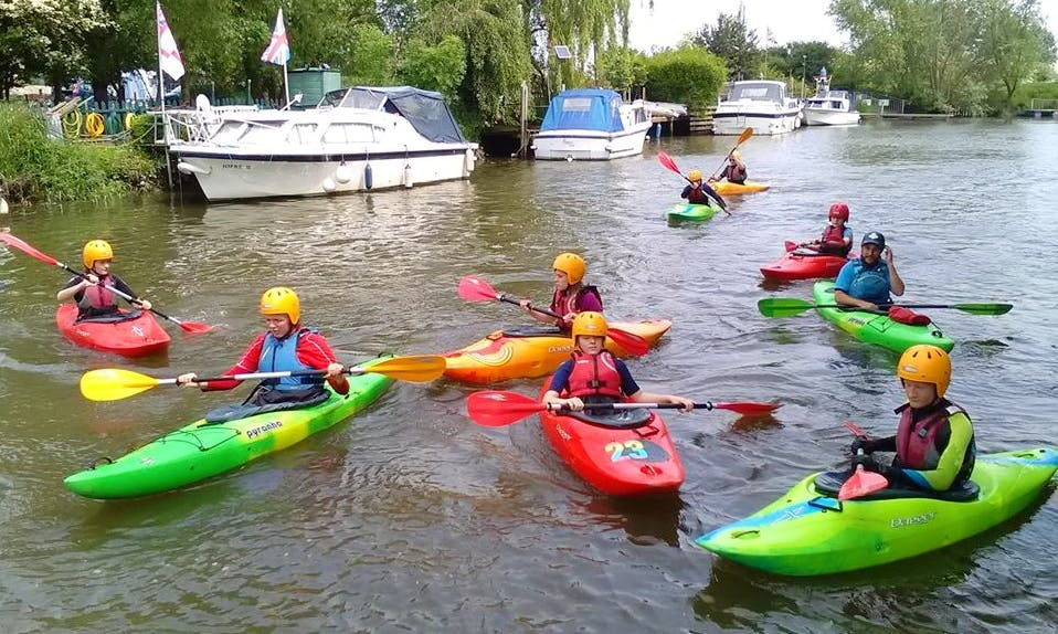 Single Kayak Hire and Courses in Sturry, England
