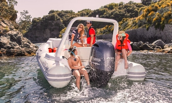 Lomac Rigid Inflatable Boat In Kalamata, Greece