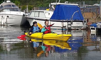 Enjoy Double Kayak Hire & Courses in Sturry, England