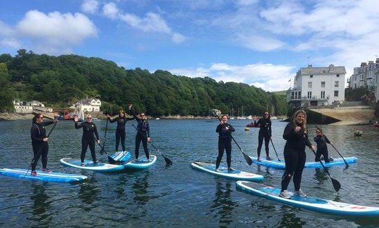 Stand Up Paddleboarding In Newquay