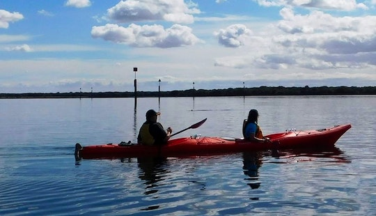 Exciting Great Kayak Experience On Loch Insh In Scotland