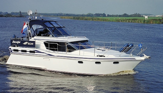 38' Reline 1150 Motor Yacht Rental In Ijlst, Netherlands