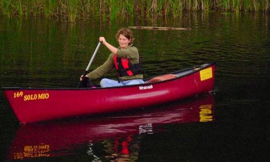Single Canoe Rental In Mirow