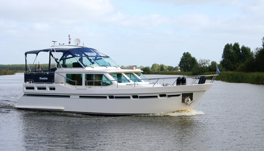 43' Stabila 1320 Motor Yacht Charter In Ijlst, Netherlands
