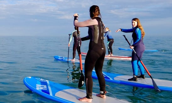Paddleboard Lesson & Hire In Brighton