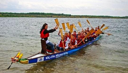 Dragon Boat Tour In Markkleeberg